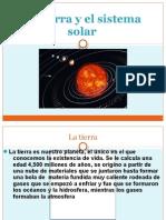 La Tierra y El Sistema Solar Con Movimiento