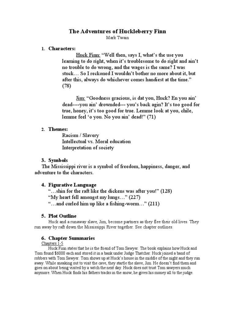 The Adventures Of Huckleberry Finn Huckleberry Finn Adventures