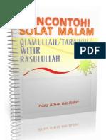 Sifat Solat Malam / Tarawih / Witir / Tahajjud Rasulullah