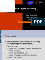 Service Layers in Spring