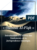 Oussoul Al-Fiqh -+ - Introduction a la science des fondements de la Jurisprudence