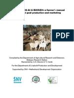 Goat Farming as a Business - A Farmers Manual