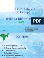 AFTA Energy Department 20090107