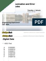 DC Error Correcting Codes