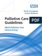 NECN Palliative Care Guidelines Booklet 2009