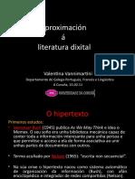 Aproximación á literatura digital último