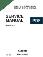 Canon 7161 Service Manuel
