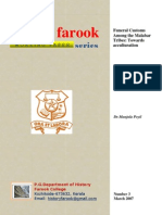 Funeral Customs Among the Malabar Tribes