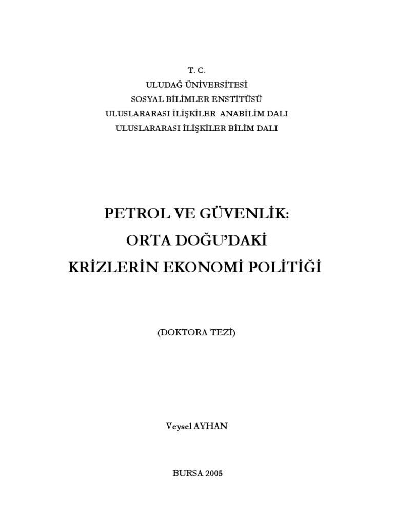 Uğur Gürses: Türkiye petrol ülkesi değil, krizi aşmak için yeni bir hikaye yazmalı 8