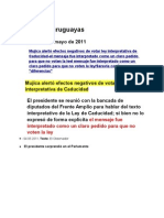 Noticias uruguayas 5 mayo 2011