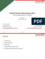 Experton Group - Cloud Vendor Benchmark 2011 - Pressefrühstück