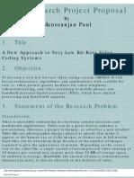 PhD Research Proposal of jan Paul
