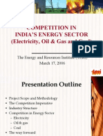 Competition in Indian Energy Secor