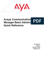 Basic Administration Quick Reference Guid