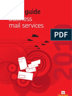 Business Mail Service Tariff Guide2010