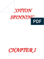 Cotton Spinning Lecture Notes for Students (07 Mart 2011)
