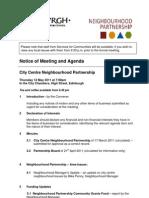 CCNP Agenda 12 May 2011
