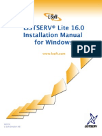 LISTSERV16.0_InstallManual_WindowsLite