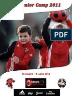 Brochure Milan Junior Camp Pescara