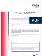 Arts and Cultural Education in Europe
