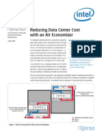 Reducing Data Center Cost With an Air Economizer