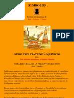 Alquimia - Tres Tratados ingleses inéditos en castellano. by Alquimia