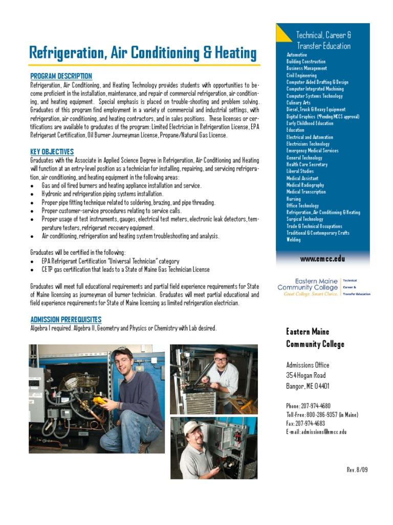 Refrigeration Hvac Air Conditioning