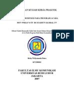 Microsoft Word - Laporan Kuliah Kerja Praktek