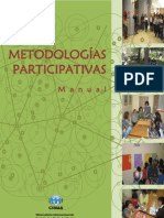 Manual Metodologias Participativas