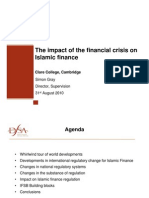 Impact of the Financial Crisis on Islamic Finance++