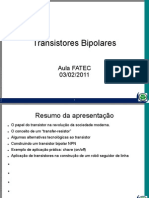 Aula - Transistor Bipolar