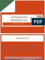Integridad Referencial (BDD2)