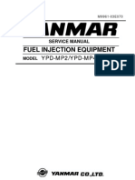Yanmar Injection Pump Manual