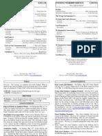 Cedar Bulletin Page - 05-08-11