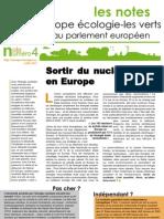Sortir du nucléaire en Europe