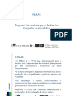 PIAAC Competências Adultos
