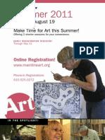 Summer 2011 Course Brochure