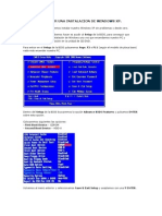 Pasos Para Hacer Una Instalacion de Windows Xp f
