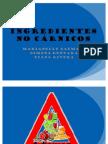 INGREDIENTES NO CÁRNICOS