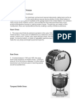 Types of Musical Drums
