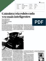 Coimbra cria robôs cada vez mais inteligentes