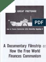 The Great Pretense-a filmstrip by Gary Allen