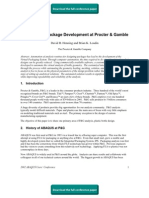 ABAQUS for Package Development at Procter & Gamble