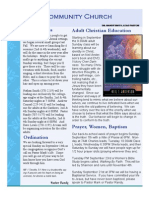 FCC Newsletter Sep 08