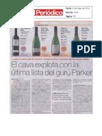 Puntuaciones Parker Prensa 05/05/11