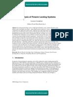 FE Analysis of Firearm Locking Systems
