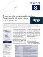 Crowns and Other Extra-coronal Restorations