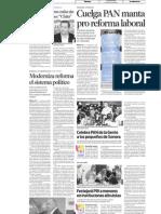 05-05-11 Moderniza Reforma el Sistema Político