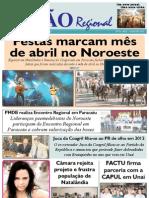 JORNAL VISÃO REGIONAL - EDIÇÃO 79 - MAIO DE 2011 - UNAÍ - PARACATU-MG