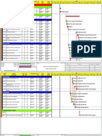 Sample Shutdown Schedule for Heat Exchanger Cleaning and Inspection
